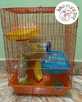 Kandang Hamster Besar Lengkap