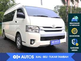 [OLX Autos] Toyota Hi Ace 2.5 Commuter Diesel M/T 2019 Putih