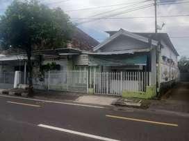 Rumah pinggir jalan dekat pasar telo karangkajen Mergangsan Yogyakarta