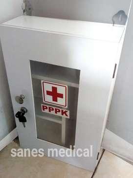 Kotak P3K + Kunci utk Kantor dan Industrial Kotak Obat non Maspion