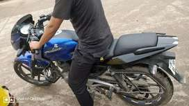 Pulsar 180 with all documents and good mileage approx 43 to 45