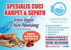 Jasa Cuci Karpet dan Sepatu (Siap Antar Jemput)