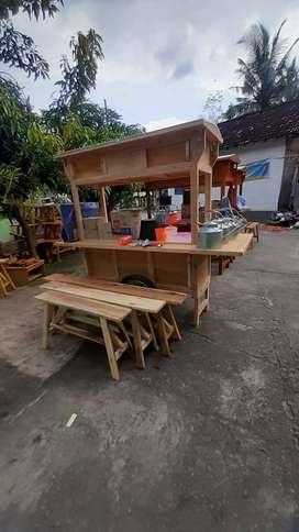 Gerobak Wedangan Angkringan free Ongkir COD 2385