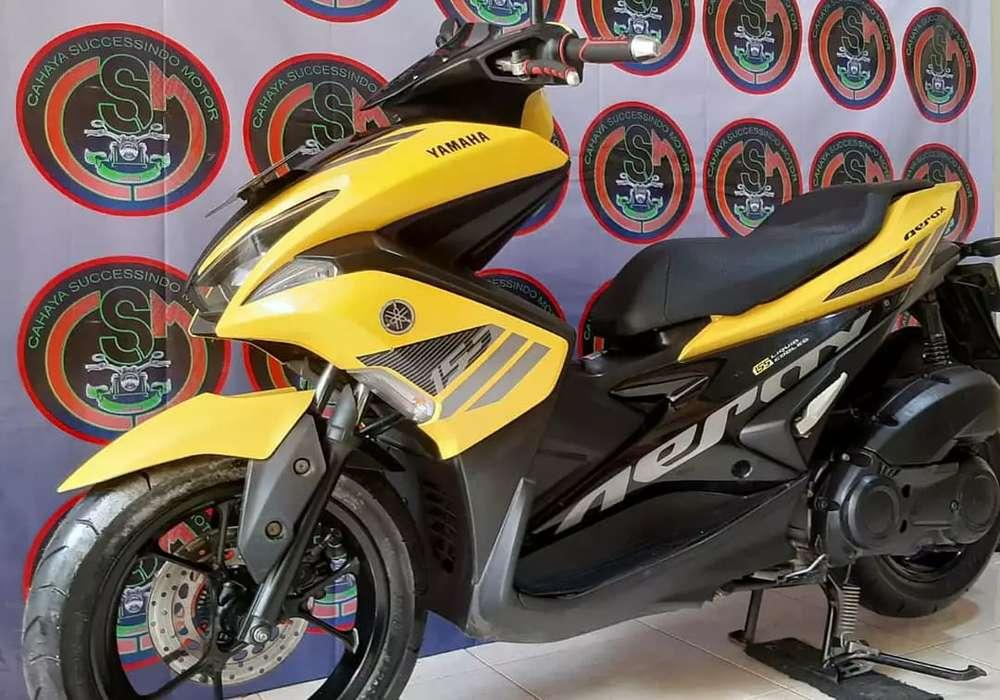 Yamaha Aerox Th 2017 Pajak Panjang Motor Gress
