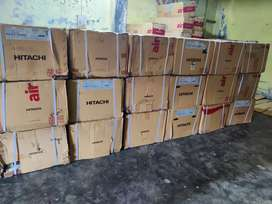 BOX PACK HITTACHI 1.0 TON 3 STAR WINDOW AC ONLY RS 21000