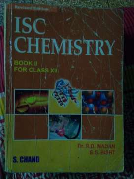 ISC CHEMISTRY CLASS 12 S CHAND PUBLISHERS ORG MRP 725
