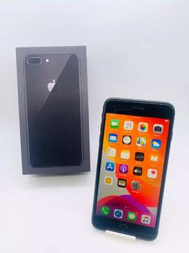 Apple iPhone 8 Plus 64 GB BLK colour with box and full of kit