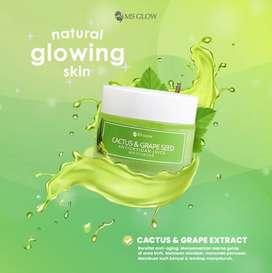 Moisturizer juice antioksidan cactus&grape seed ms glow