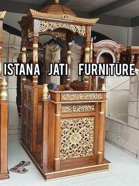 Mimbar masjid khutbah ramadhan karim