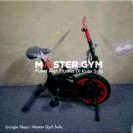 Master Gym Bike 2 in 1 Bergaransi Ready Treadmill