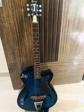Gulson semi acoustic guitar.. mint condition