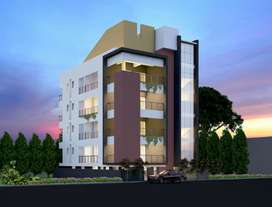 Only for vegetarians 3 BHK flats for sale