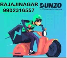 Required delivery boy or executive for dunzo