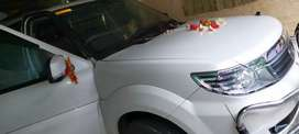 Tata safari storm  silver car with superp condition