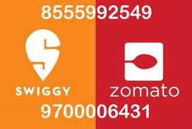 urgently hiring swiggy zomoto boys in hyderabad joining bonus 5000