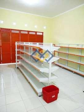 Rak Minimarket Rak Gondola Toko Rak Gudang Meja Kasir Langsung Pabrik