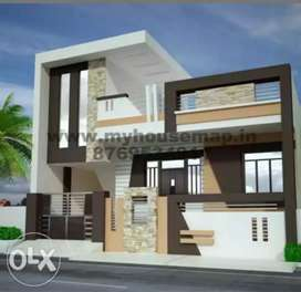 House 4 sale.loanable property 1 year old construction  newly develope