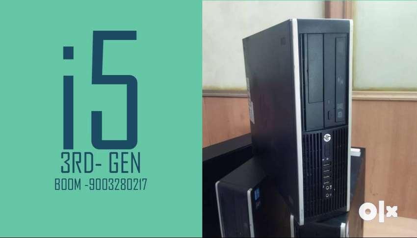 BRANDED CPU HP    I5 3RD GEN     1 YEAR WARRANTY  