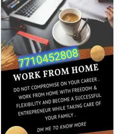 .wanted genuine Part time home based data entry workers for