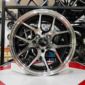 Velg mobil racing  ring 15 brio yaris mobilio calya agya fiesta dll