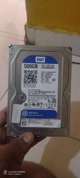WD 500GB HDD IN 850 ONLY