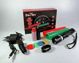 Senter LED Multi Fungsi SWAT Lalin Police Satu set