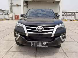 Toyota Fortuner 2.4 VRZ Diesel 2016 km 48rb Tangan 1 Ganjil