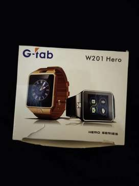 G TAB SMART WATCH  W201 HERO