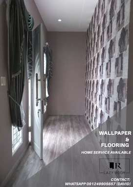 WALLPAPER & FLOORING