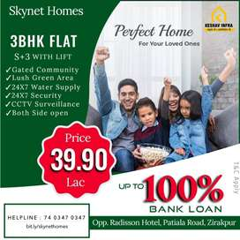 3 BHK FLATS WITH LIFT