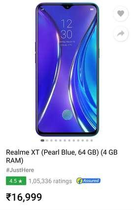 Realme xt 4GB,64GB
