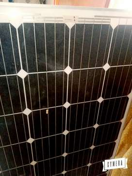 Solor plate with solor wari