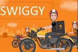 Hiring swiggy and shadowfax delivery boy
