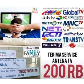 Agen Antena digital uhf Pasang sinyal lokal Antena TV (Pondok Melati)