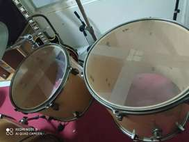 Drum set lengkap merk SBU