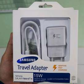 Travel Charger Fast Charging Samsung Note 4 / S6