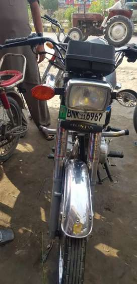honda 125 model 2009 with sealed condition