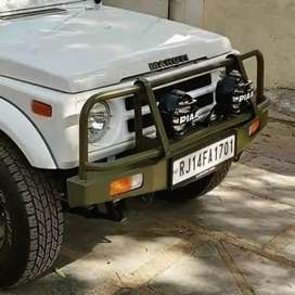 gypsy front offroad bumper