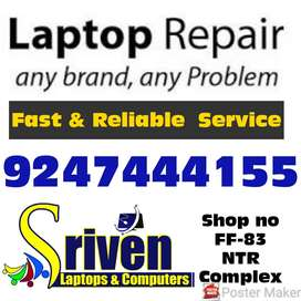Laptops Damages Repair and Fixing : Sriven Laptops NTR Complex-FF-83
