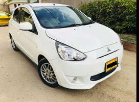 Mitsubishi Mirage- Get on easy installment