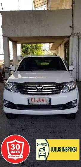 [Lulus Inspeksi] Toyota Fortuner 2.7 G 2014 bensin