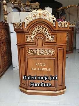 Mimbar Masjid podium E840 talk kode