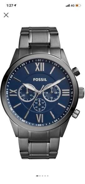 Fossil Flynn analog watch brand new