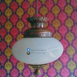 Produksi Lampu Gantung Antik Kalsik  Hias Joglo Gebyok