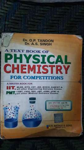 IIT JEE, O P Tondon Physical Chemistry