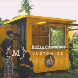 Booth Container CAFE | Booth KEBAB | Booth THAITEA| Booth Martabak /01