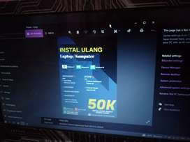 Instal Ulang Laptop Windows