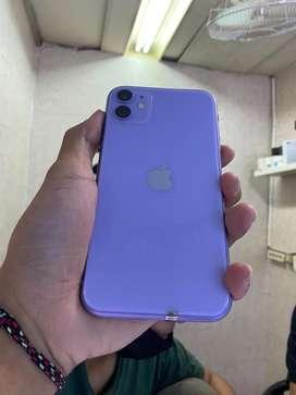iPhone 11 64gb Purple Bergaransi Resmi CUCI GUDANG Termurah Terpercaya