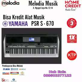 Keyboard Yamaha PSR S 670. Promo Cicilan tnp CC Free 1x Angsuran