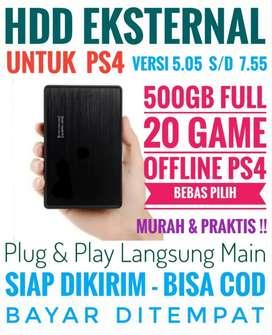 HDD 500GB Mantap FULL 20 Game Terlaris PS4 Bebas Pilih